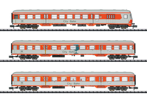 Minitrix N  Personenwagen Set City Bahn DB 15474