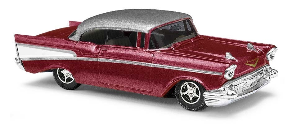 Busch HO Chevy Bel Air Limo Metallic 45046